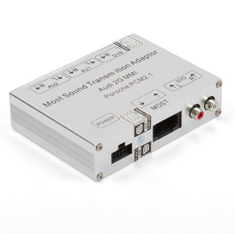 Adaptador de audio  MOST para Audi