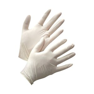 Latex Gloves size S, 100pcs pack