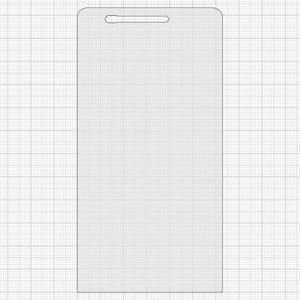 Tempered Glass Screen Protector All Spares Huawei Ascend P6-U06, (0,26 mm  9H)