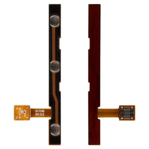 Flat Cable for Samsung P5100 Galaxy Tab2  Tablet, ( ON/OFF button, side buttons)