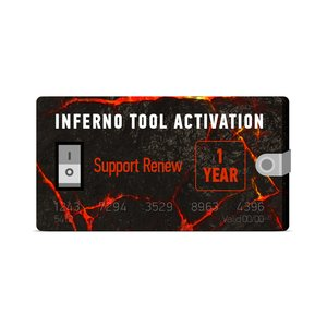 Inferno Tool 1 Year Support (Renew)