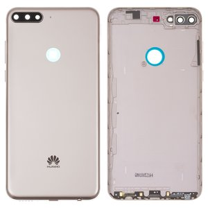 ad1a3ab7dd6 Panel trasero de carcasa Huawei Y7 Prime (2018), dorada - GsmServer