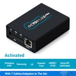 Octoplus Pro Box с набором кабелей/адаптеров 7 в 1 (с активацией Samsung + LG + eMMC/JTAG + Unlimited Sony Ericsson + Sony + Octoplus FRP Tool + Huawei Tool)