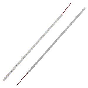Светодиодная линейка на алюминиевой основе, 50 см, 5630, WW (теплый белый), 6 Вт