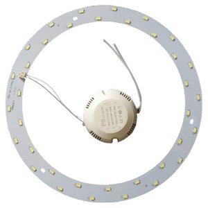 Комплект для сборки светодиодного светильника 18 Вт (естественный белый, круглый, 4000-4500 К)