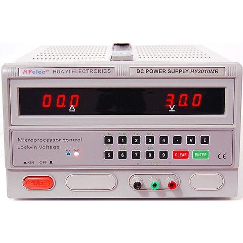 Регульований блок живлення HYelec HY3010MR