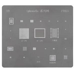 BGA-трафарет P3025 для мобильного телефона Apple iPhone 5S, 25 в 1