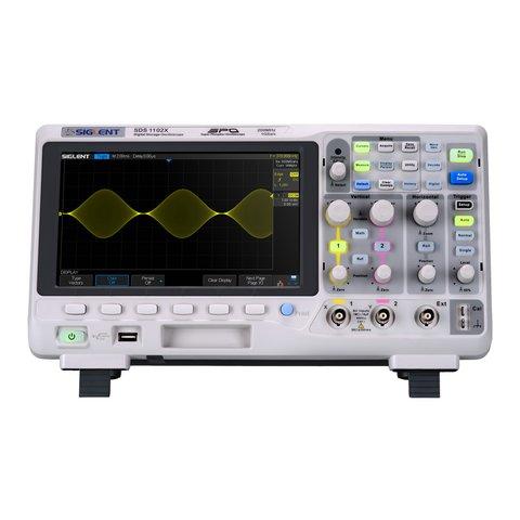 Фосфорний цифровий осцилограф SIGLENT SDS1102X
