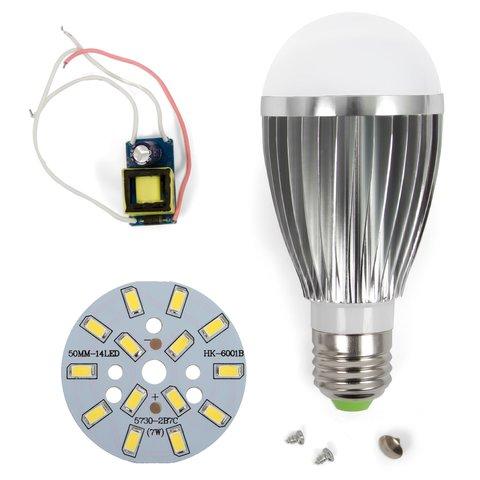 Комплект для збирання лампи SQ Q03 5730 7 Вт E27 – холодний білий