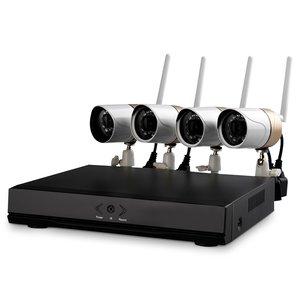 Комплект: сетевой видеорегистратор  Wanscam HL0162 и 4 беспроводных IP-камеры наблюдения