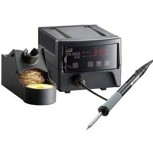 Estación de soldadura sin plomo con controlador de temperatura GOOT RX-802AS