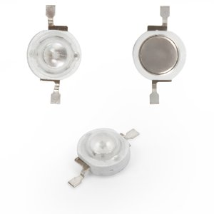 LED 1 W (blue, 20 lm, 470 nm, 350 mA, 3.2-3.4 V)
